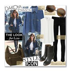 """Dakota Johnson...Style Icon"" by clovers-mind ❤ liked on Polyvore"