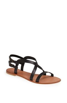 Free shipping and returns on Joie a la Plage 'Socoa' Leather Sandal (Women) at Nordstrom.com. Supple leather straps twist atop a striking flat sandal with dual ankle straps at the back.