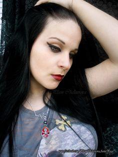 Amazing necklace by Poison Kiss  https://www.facebook.com/P.Kiss.Shop Model: Plam Chelavrova https://www.facebook.com/PlamChelavrovaArtistPage  #poisonkiss #plamchelavrovaartistpage
