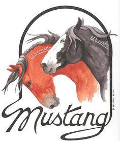 Adopt A Mustang (Wild Horse)