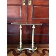 Antique Gold Side Table - Image 4 of 4