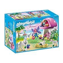 Playmobil - Nouveautés 2016 - Centre de soins pour licornes - 6055
