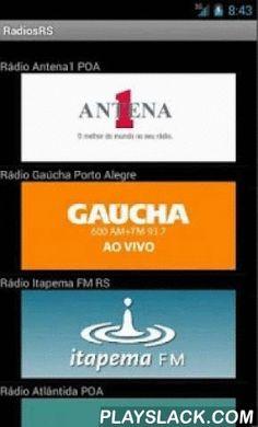 Radios RS  Android App - playslack.com , Rádios de grande audiência no Rio Grande do Sul - Brasil: Rádio Antena1 POA, Gaúcha Porto Alegre, Itapema FM RS, Atlântida POA, Cidade FM, Guaiba POA, GRENAL, Pampa AM, Jovem Pan, 104 FM, Continental, Eldorado, Liberdade, Praia FM, Princesa, Capão FM, Band AM 640, Ipanema FM 94.9, Universidade Pelotas, Germânia FM, Imperial FM, Rádio da UFRGS, União Novo Hamburgo, União Pelotas, Difusão FM, Difusão AM, Arauto FM, Pop Rock Cruz Alta, 88.7 FM, Nativa…