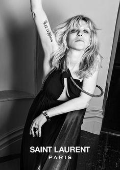Courtney Love Fronts New Saint Laurent Campaign