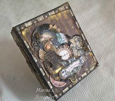 """Άρωμα Δαντέλας: Mini album """"Alchemy""""-Decomagia HobbyShow DT"""