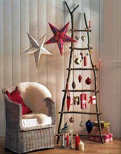 Idée décoration noel fait maison intérieur chic déco