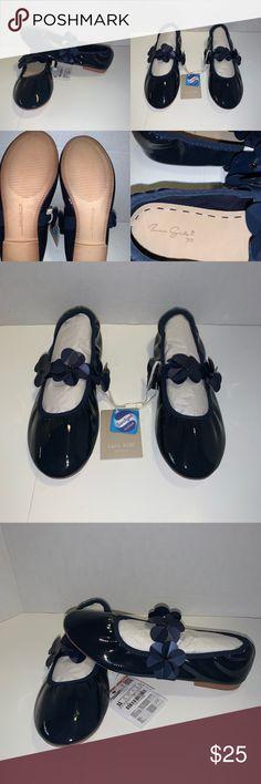 GYMBOREE GET DRESSED UP BLACK GEM BALLET FLAT SHOES 9 10 11 13 3 NWT