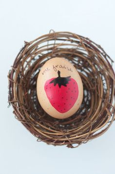 DIY Fruity French Easter Eggs