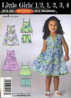 2010 TODDLER DRESS and SPORTSWEAR  Simplicity by KeepsakesStudio, $1.99