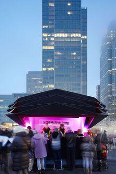 Canary Wharf Kiosk Make Architects
