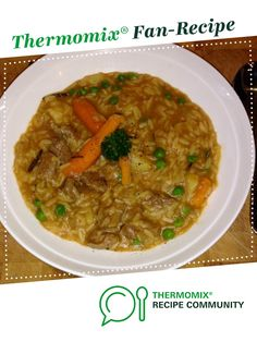 Recipe Thick Lamb Soup by Trudy Thermagerl, learn to make this recipe easily in your kitchen machine and discover other Thermomix recipes in Soups. Thermomix Soup, Kitchen Machine, 5 Recipe, Recipe Community, Food N, Soup Recipes, Lamb, Soups, Curry