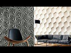 Wall Panel Design, Wall Decor Design, 3d Wall Panels, Interior Decorating, Decor, Interior Design, Home Decor