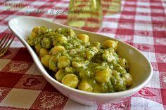 Gnocchetti con zucchine e gamberetti