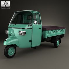 Piaggio Ape C 1956 3d model from Humster3D.com.