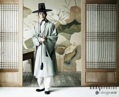 #hanbok Handsome Traditional Korean hanbok for men
