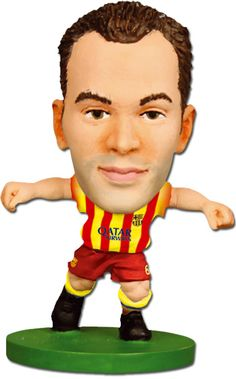 Andres Iniesta is Barcelona gold. And with his new contract for life at FC Barcelona he is definitely a must have for every FC Barca fan. Fc Barcelona Players, Barcelona Football, Soccer Fifa, Messi Soccer, Xavi Hernandez, World Football, College Football, Football Team, Shopping