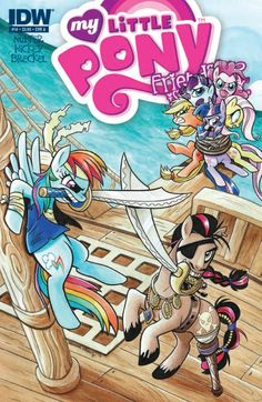 X Marks The Spots In 'My Little Pony Friendship is Magic' #14 so cool I made the drama club an the theme is pirates