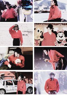 Michael in his fav colour