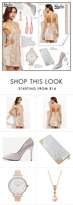 """""""SheIn 9"""" by amrafashion ❤ liked on Polyvore featuring Olivia Burton, LE VIAN and Robert Lee Morris"""