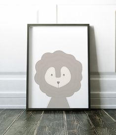 Nursery Wall Art Nursery Print Woodland Print Art Print Nursery Prints, Nursery Wall Art, Wall Art Prints, Soft Colors, Colours, Minimalist Nursery, Lion Print, Woodland Nursery, Large Prints