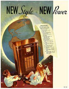 1934 ... world sized radio!
