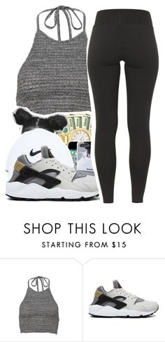 """""""Untitled #262"""" by mindset-on-mindless ❤ liked on Polyvore featuring beauty and NIKE"""