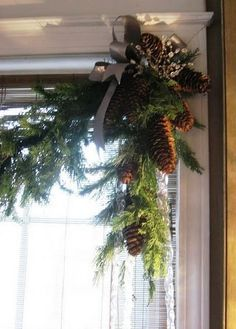 Pine garland ideas