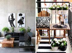Цветы в интерьере. 55 примеров и 10 практичных советов - Сундук идей. Дома и интерьеры. Small Space Living, Small Spaces, Living Spaces, Futons, Entryway Bench, Ladder Decor, Design Inspiration, Exterior, Outdoor