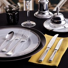 Christofle Albi - The french city Albi, which lies between Bordeaux and Toulouse, gives the name and the design is inspired by the straight and clear lines of the gothic cathedral of Albi. SHOP NOW https://boulesse.com/en/product/6540/Christofle/Albi-Sugar-Bowl