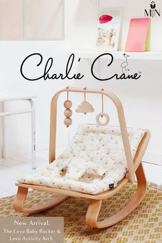 The Levo Baby Rocker & Levo Activity Arch by Charlie Crane have just arrived and we couldn't be anymore excited! It's the perfect place for your little one to relax still while being super stylish and complement your stylish home perfectly! Baby Rocker, Activities, Baby Gear, Perfect Place, Relax, Baby Equipment
