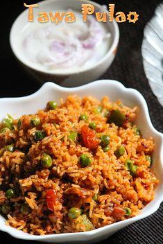 YUMMY TUMMY: Mumbai Tawa Pulao Recipe / Tava Pulav Recipe