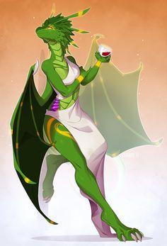 Furry Pics, Furry Art, Fantasy Dragon, Dragon Art, Fantasy Character Design, Character Art, Female Dragonborn, Anthro Dragon, Dragon Comic