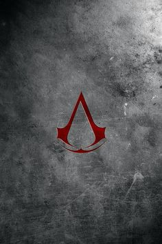 FREEIOS7 | assassins-creed-logo-brick - parallax HD iPhone iPad wallpaper