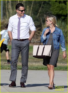 Reese Witherspoon: Flag Football Fun with Family!