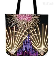Disney Castle Totes