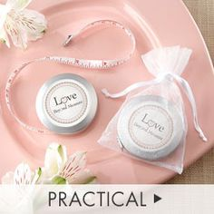 Practical Wedding Favors