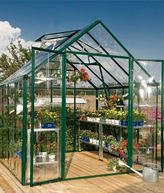 WANT  Snap N Grow Greenhouse 8 x 8, Home Gardening Supplies at Burpee.com
