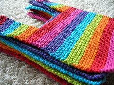 these baby bibs rock. Love the colors. rainbow.