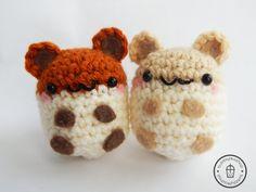 Amigurumi Hamster Hamster Plush Hamster by BubblyTeaShop on Etsy