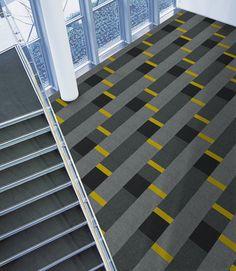 Zesty Mono in Action with Interface Carpet Tiles (Consolidation-Consolidation-Consolidation-Palette2000_Quartz-Onyx-Black)