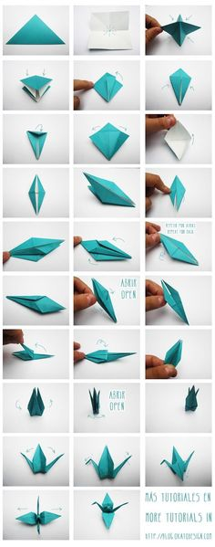Origami, Kusudama y Kirigami. Origami Design, Instruções Origami, Origami Swan, Origami And Kirigami, Origami Ball, Useful Origami, Paper Crafts Origami, Origami Flowers, Origami Birds