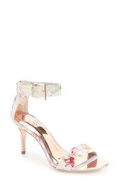 Ted Baker Blynne Sandal (women) In Hanging Gardens Fabric Look Fashion, Fashion Shoes, Womens Fashion, Shoes Flats Sandals, Strappy Sandals, Heeled Boots, Shoe Boots, Ted Baker Fashion, Cute Maternity Outfits