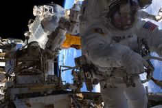NASA Astronaut Peggy Whitson's 7th Spacewalk #NASA #ImageoftheDay