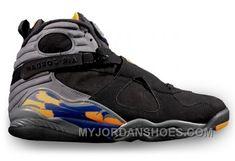 new products c856b 47665 www.myjordanshoes... 305381-043 AIR JORDAN 8 RETRO PHOENIX SUNS BLACK