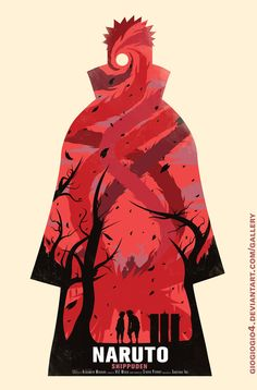 Naruto Shippuden - by GIO Design Prints available at Society6