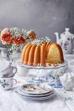 Kahvikakku: parhaat reseptit | Meillä kotona Panna Cotta, Cupcakes, Breakfast, Sweet, Ethnic Recipes, Desserts, Food, Kite, Morning Coffee