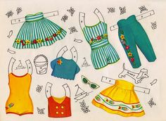 Bright Eyes Paper Dolls - Sharon Souter - Picasa Web Albums