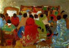 Painting by Pedro Figari