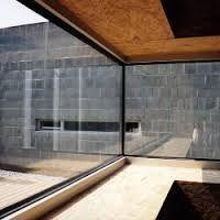black aluminium joinery wood concrete - Google Search
