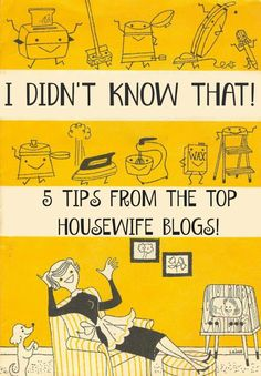 Great tips from @GlamorHousewife from top #housewife blogs